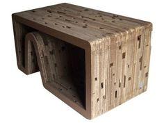 Neat Multi-Purpose Recycled Cardboard Table by Diseno Cartonero