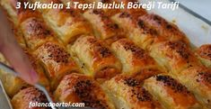 3 Yufkadan 1 Tepsi Buzluk Böreği Tarifi – Vegan yemek tarifleri – Las recetas más prácticas y fáciles Easy Eat, Breakfast Toast, Food Categories, Pastry Recipes, Recipe Of The Day, Vegan Vegetarian, Vegetarian Breakfast, Hot Dog Buns, Food Styling