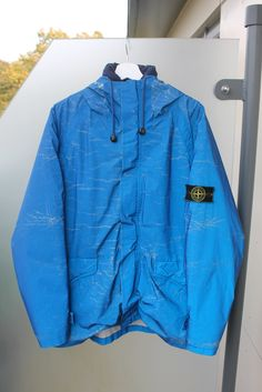 Established in 2013 and based in the South of England, James Parkes is a sole trader dealing in vintage Stone Island garments. Stone Island Reflective Jacket, Island Man, Balaclava, Adidas Jacket, Sportswear, Raincoat, Hoodies, Casual, Fashion Ideas