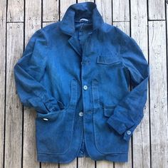 The Sharp Gentleman denim jacket Denim Top, Denim Shirt, Gents Fashion, Sporty Fashion, Hunting Jackets, Tumblr, Denim Outfit, Japan Fashion, Shirt Jacket