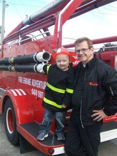 Fireman Graham with Zac