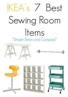 IKEA's Best Sewing Room Items! The bulk of the storage pieces, work areas, and furniture in both mine and Elizabeth's sewing rooms comes from IKEA. Without our planning we both gravitated toward the practical pieces, clean lines, and affordable prices that we we found there. And so today we are showing you our list of...Read More » by tracey