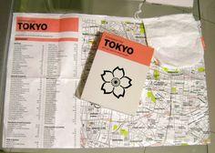Crumpled City Map: TOKYO