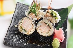 Teriyaki Chicken Roll Sushi | Musashi – Auckland Japanese Restaurant | St Heliers | Milford
