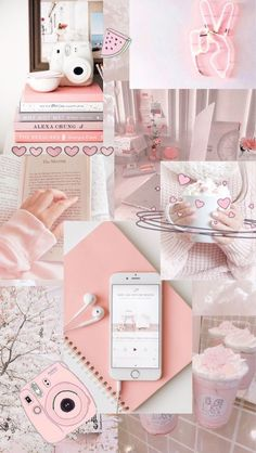 Christmas wallpaper aesthetic collage Ideas for 2019 Wallpaper Pastel, Cute Patterns Wallpaper, Pink Wallpaper Iphone, Iphone Background Wallpaper, Cute Disney Wallpaper, Retro Wallpaper, Galaxy Wallpaper, Girl Wallpaper, Cartoon Wallpaper