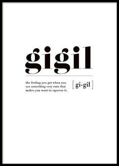 Quotes | Posters | Typographic | Desenio.co.uk