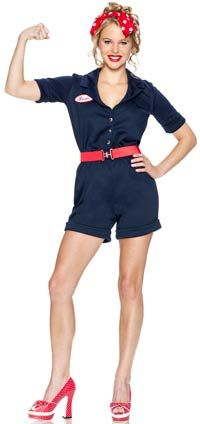 Riveting Rosie Sexy Costume – Halloween Costumes « Mutant Faces
