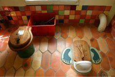 'Compost toilet interior' found on flicker