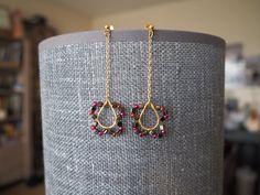 """Something delicate for today. """"Orchidée"""" earrings at Verri Verra Shop / Quelque chose de delicate pour aujourd'hui. Boucles d'oreille """"Orchidée"""" à la boutique Verri Verra"""