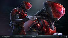 ArtStation - Galactic Frontline: Character Illustrations , Joseph Nickson