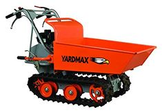 YARDMAX YD8103 Track Barrow, 660 lb. Capacity, Briggs and Stratton, CR950, 6.5 hp, 208cc
