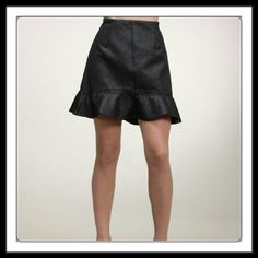 """""""Black UFO Skirt"""" by Moon Collection THIS LISTING IS FOR SIZE """"S"""" and ready for purchase! Comes in S, M, L / check my closet for other available sizes if needed) Quantities are limited!  Grab yours now Beautiful Skirt  Brand New Retail. Sorry  Trades. Moon Collection Skirts"""