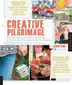 **looks like this would be a good one to borrow from the library** Creative Pilgrimage: An Exploration of Artful Gatherings and Discovery of Innovative Art Techniques by Jenny Doh {2.5 star review from liberal sprinkles at Good Reads}