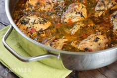 Skinless chicken drumsticks, slowly stewed in light beer, scallions, tomatoes, cilantro, peppers, garlic and spices.   As the colder weather slowly approaches in the coming months, this dish will warm your kitchen and hopefully give you the same comfort it gives me.  My favorite way to eat this is served over rice with a slice of avocado. I make so many variations of this dish depending on what I have on hand; sometimes I add baby potatoes, yucca, or I'll make it without the beer. If you are…