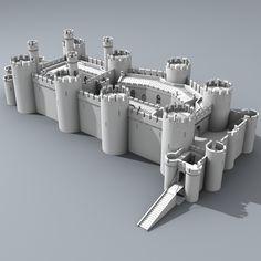 Reconstrução do Castelo de Conwy - Terminado em 1287