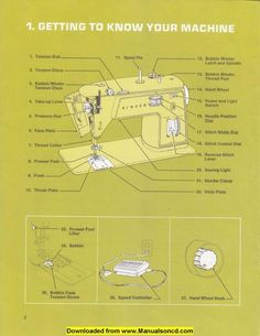 singer 347 sewing machine instruction manual