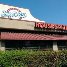 House of Pizza, San Jose, California -- square cut pizza that's crazy good!
