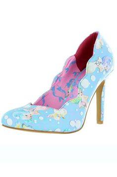 Iron Fist Lollipop Lorelei Heels - Blue (7)