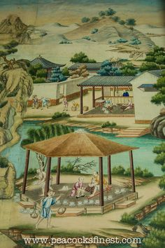 Harewood House: 18th Century Chinese Wallpaper