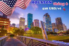 Mua vé máy bay đi Houston giá rẻ tháng 6
