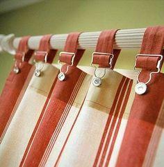 Tuinbroek haak gebruikt om op ta hangen
