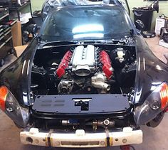 V-10 S2000 swap. Yes, it does fit, size does matter!