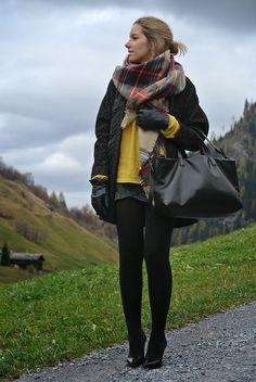 bpla'style by belén plá: OUTFIT | Tartan Tale Scarf Stilettos, Winter Ootd, Zara, Plaid Scarf, My Style, Outfits, Fashion, Bandana Scarf, Outfit