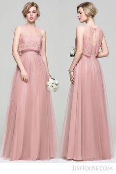 pink bridesmaid dress, new arrival long bridesmaid dress,tulle bridesmaid dress sold by on Storenvy Tulle Bridesmaid Dress, Elegant Bridesmaid Dresses, Elegant Dresses, Pretty Dresses, Beautiful Dresses, Prom Dresses, Formal Dresses, Wedding Dresses, Lace Bridesmaids