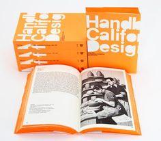 A Handbook of California Design – Irma Boom_Orange edge