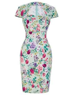 Ravishing Elegant Vintage Style Print Dresses