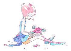 (gif) Pearl ||| Steven Universe Fan Art by ohseagull on Tumblr