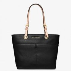 MICHAEL Michael Kors Bedford Leather Tote Black