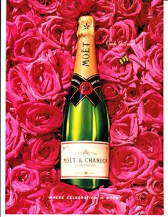 Moet Chandon Champagne Magazine Print Advertisement | eBay
