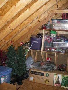 Delightful Organizing An Attic: If Clutter Is Out Of Sight, Is It Out Of Mind Images