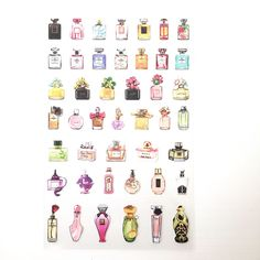 Image of Mini Perfume Stickers