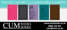 An ideal way to keep God's Word by your side. These attractively presented NIV Bibles offer amazing value for money!