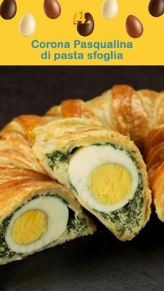Italian Appetizers, Flaky Pastry, Ricotta, Fall Recipes, Food Videos, Italian Recipes, Food And Drink, Easy Meals, Cooking Recipes