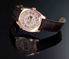 Brand new #SaintHonoreParis Lutecia automatic open dial #watch