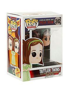 "Tattler Twins are given a fun, and funky, stylized looks as an adorable collectible vinyl figure!<ul><li> 3 3/4"" tall</li><li>Vinyl</li><li>Imported</li><li>By Funko</li></ul>"