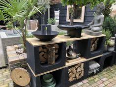 Real Plants, Growing Plants, Back Gardens, Small Gardens, Amazing Gardens, Beautiful Gardens, Indoor Garden, Outdoor Gardens, Barbacoa Jardin