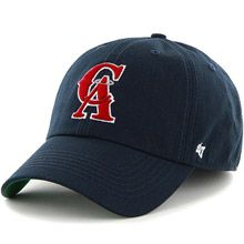 d96fb6e6bf3 California Angels 1993-96 Road Cooperstown  47 Franchise Fitted Cap by  47  Brand