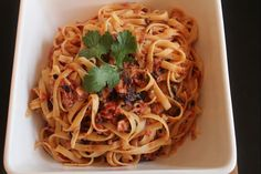Linguine with Tuna Puttanesca | Food Recipes