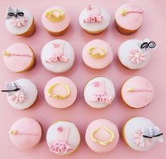princess cupcakes! by Sweet Parlour, via Flickr