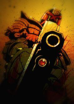 Judge Dredd by Matt Soffe