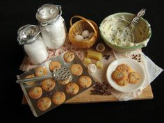 Chocolate chip cookies by goddess of chocolate, via Flickr. Miniatures