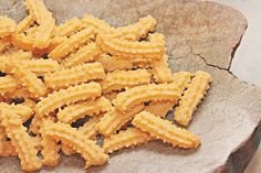 Cheese Straws....my mother made these every Christmas.