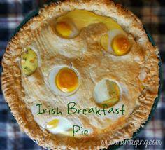 savory Irish breakfast pie
