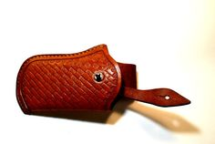 iPhone 4/4s/5/5s genuine leather holster case hand by questkit, $59.00