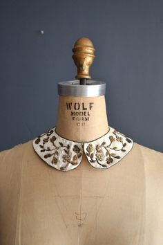 40s collar / vintage 1940s collar / peter pan by BreanneFaouzi, $32.00
