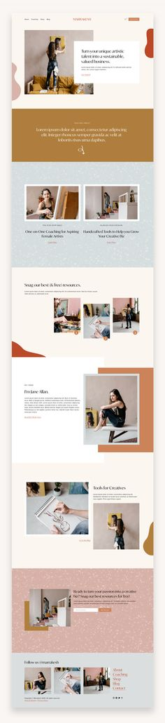 Marrakesh Squarespace Template